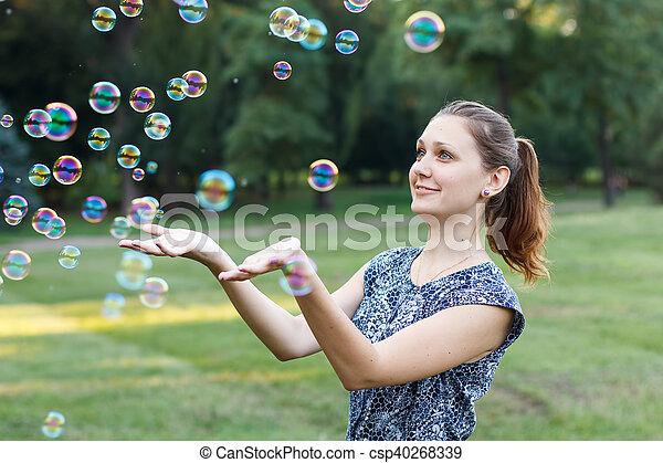 Soap ball - csp40268339