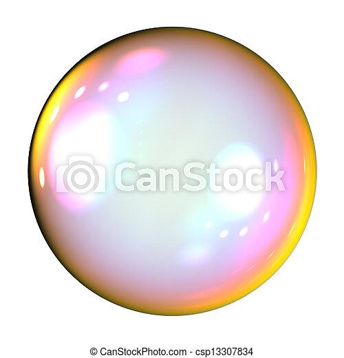 Soap bubble - csp13307834