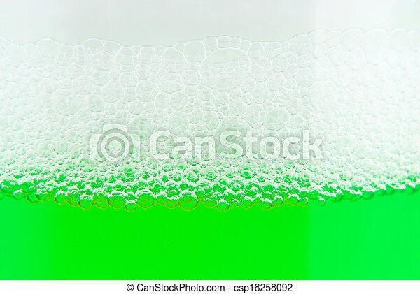 soap bubble suds texture - csp18258092