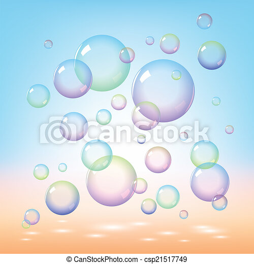 Soap bubbles - csp21517749