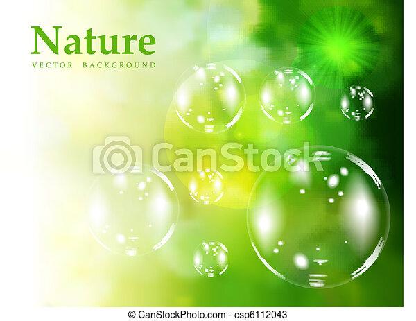 Soap bubbles - csp6112043
