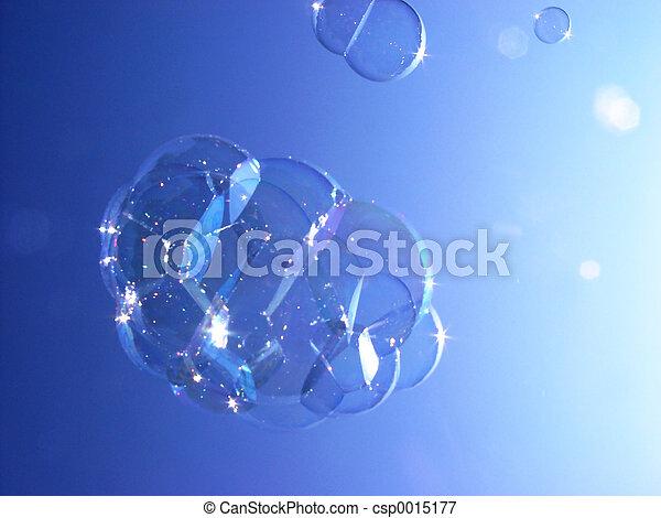 soap bubbles - csp0015177