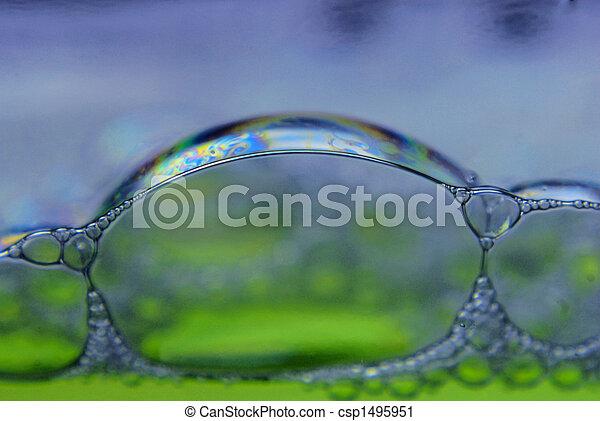 soap bubbles - csp1495951