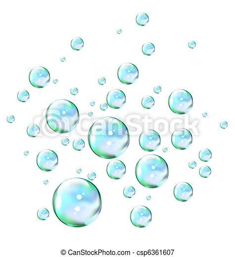 Soap bubbles - csp6361607