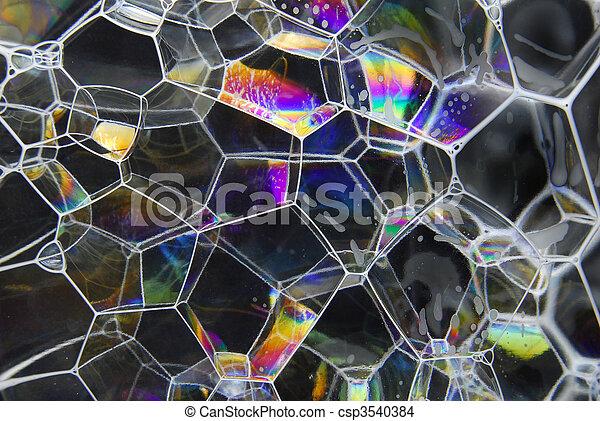 soap bubbles - csp3540384