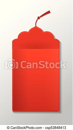 Envoltorio rojo - csp53848413