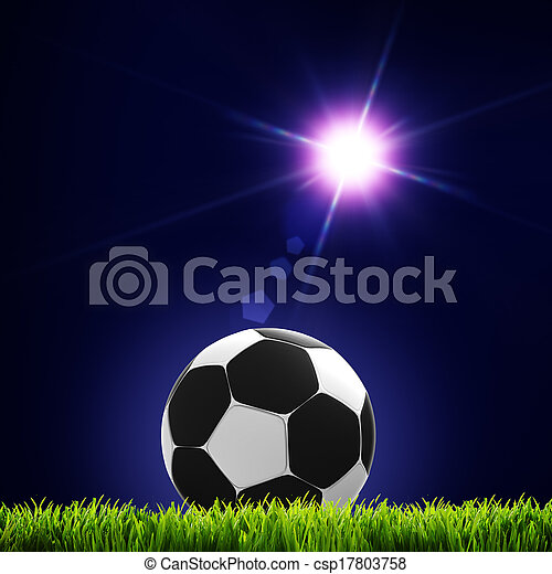 Soccer and football. Abstract sport backgrounds for your design - csp17803758