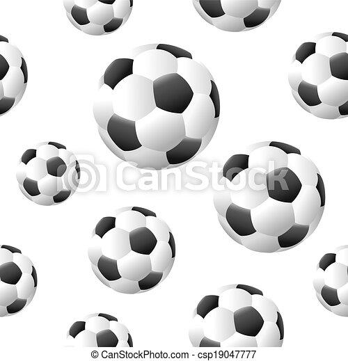 Soccer background - csp19047777