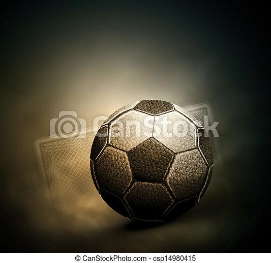 Soccer background - csp14980415
