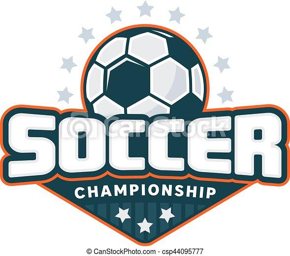 Soccer Badge Logo   Csp44095777