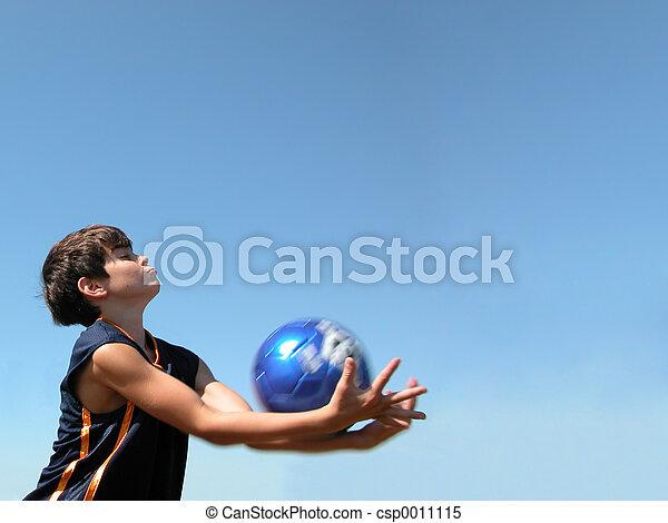 Soccer Ball Catch - csp0011115