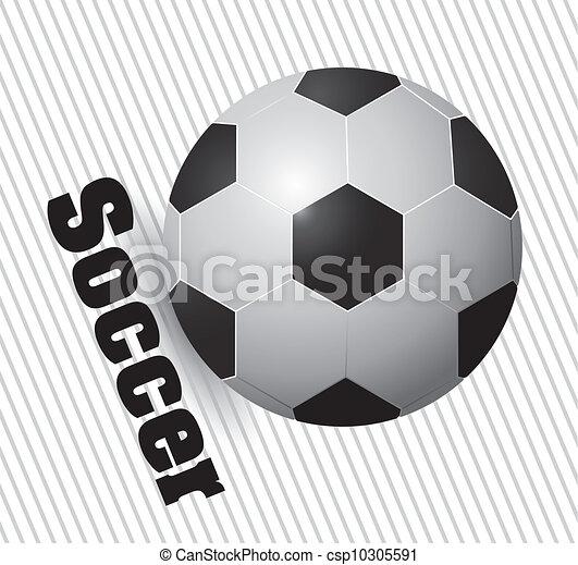 soccer ball - csp10305591