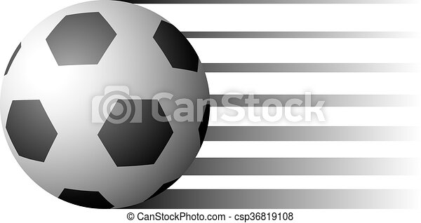soccer ball illustration - csp36819108