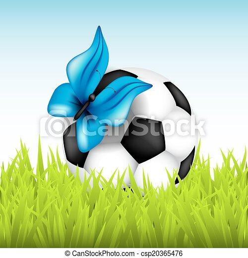Soccer ball - csp20365476