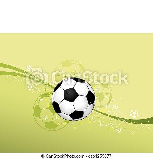 Soccer Ball - csp4255677