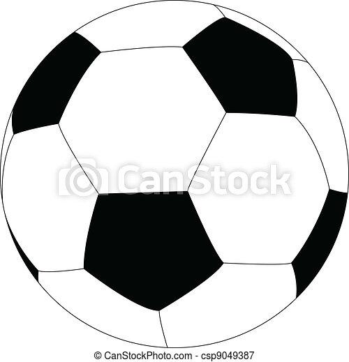 soccer ball - csp9049387