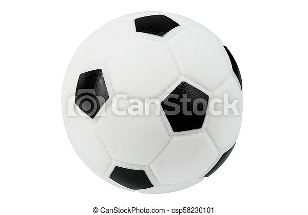 soccer ball isolated - csp58230101