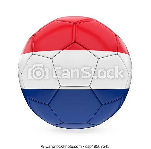 8448ec1c716 Soccer ball netherlands flag isolated. Soccer ball netherlands flag ...