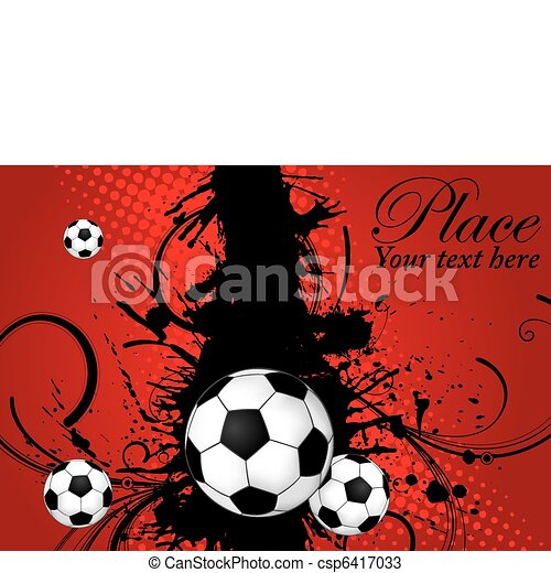 Soccer Ball theme - csp6417033