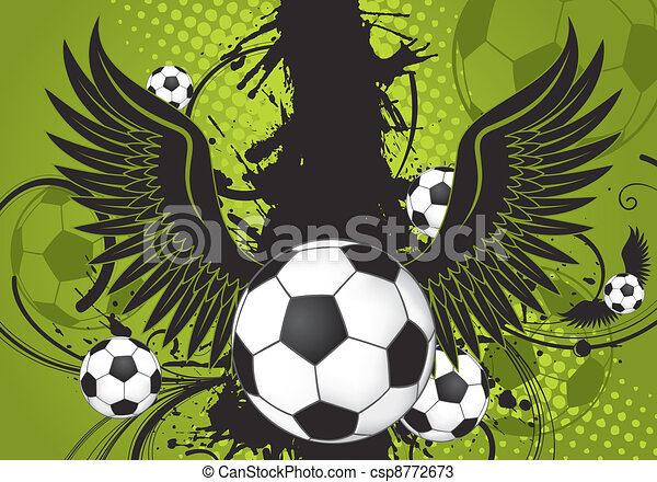 Soccer Ball theme - csp8772673