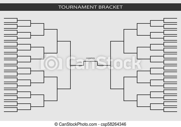 Soccer Baseball Tournament Bracket For Your Design Champion Ship