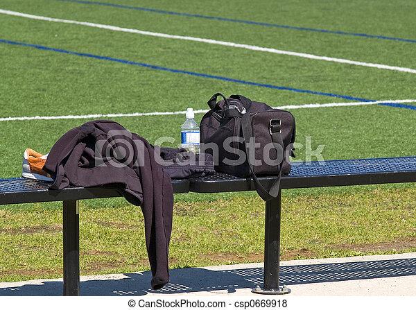 Soccer Bench - csp0669918