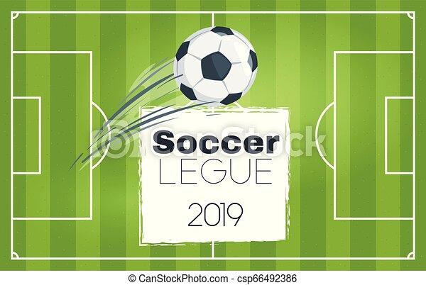 Soccer championship design element - csp66492386