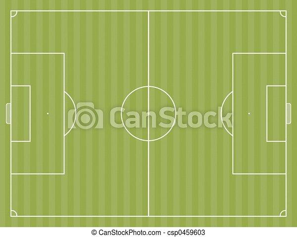 Soccer Field - csp0459603