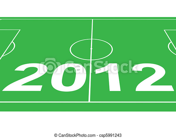 soccer field - csp5991243