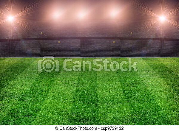 soccer field - csp9739132