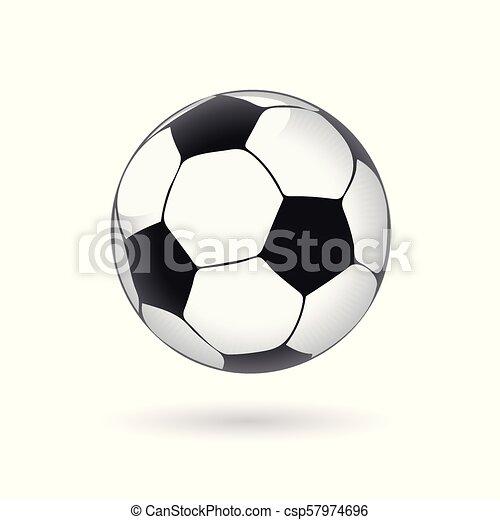 Soccer Football Ball vector illustration - csp57974696