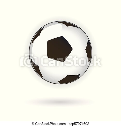 Soccer Football Ball vector illustration - csp57974602