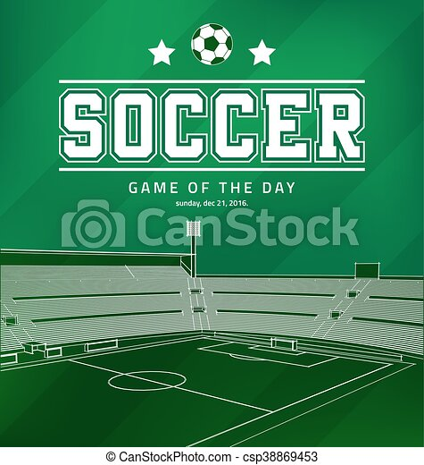 Soccer Football Poster - csp38869453