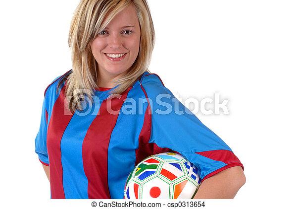 Soccer Girl 3 - csp0313654