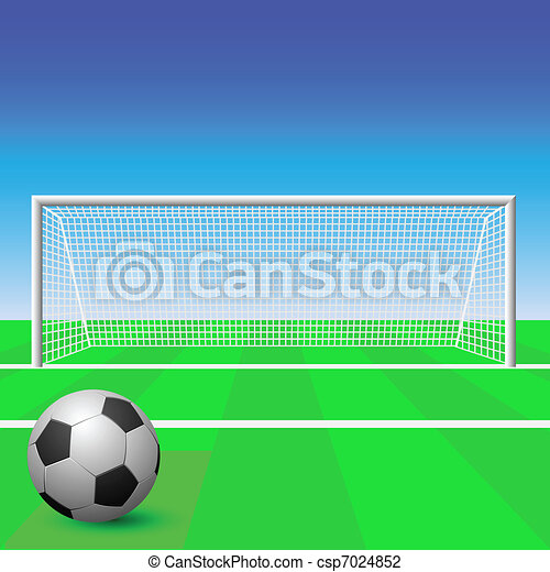 Soccer Goal - csp7024852