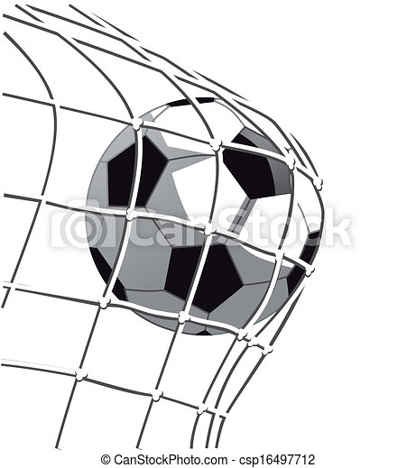 soccer goal vector clip art search illustration drawings and eps rh canstockphoto com soccer goal clipart black and white Soccer Net