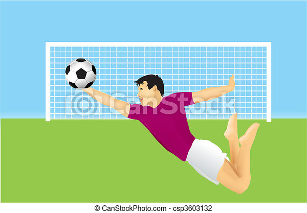 soccer goalkeeper - csp3603132