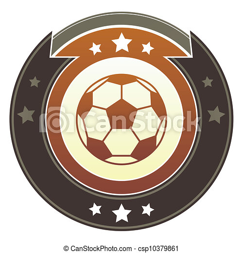 Soccer imperial button - csp10379861