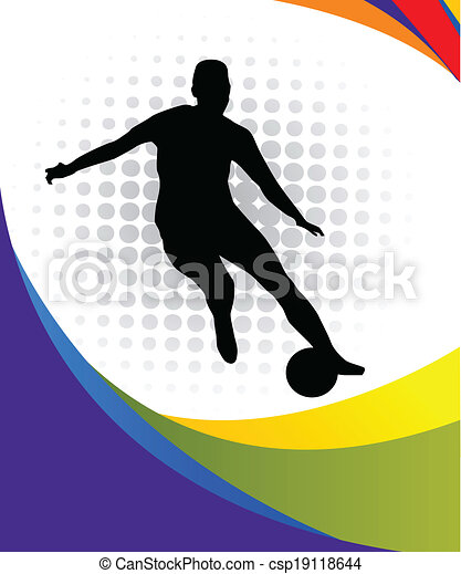 soccer player - csp19118644