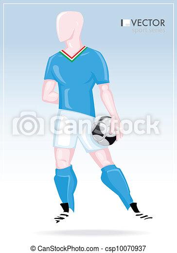 Soccer player - csp10070937