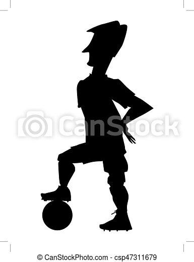 soccer player - csp47311679