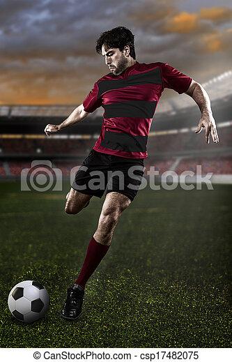 Soccer player - csp17482075