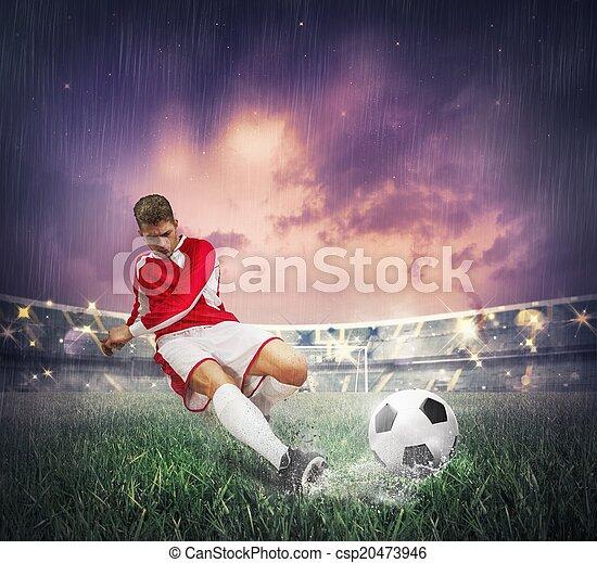 Soccer player - csp20473946