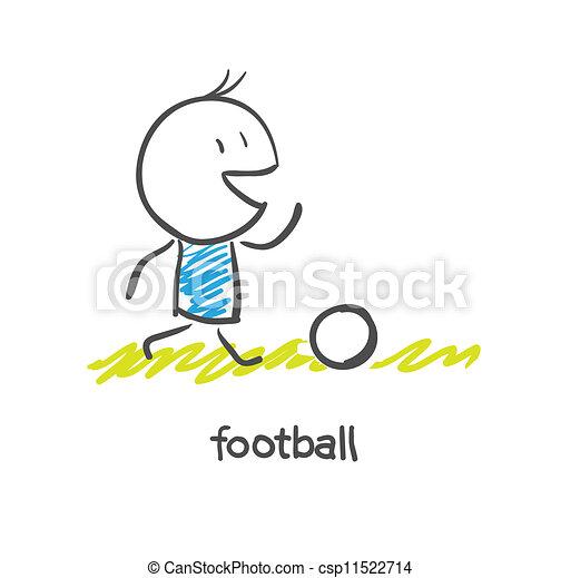 Soccer Player - csp11522714