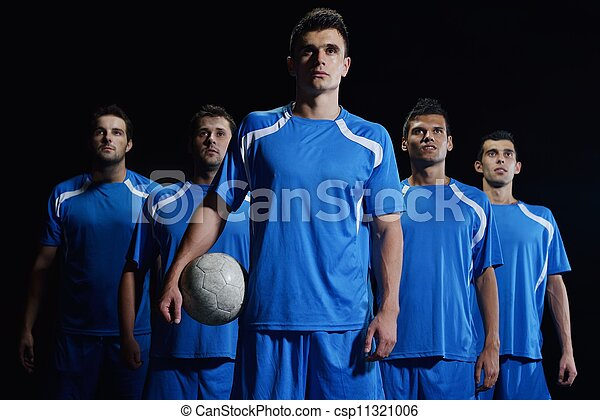 soccer players team - csp11321006