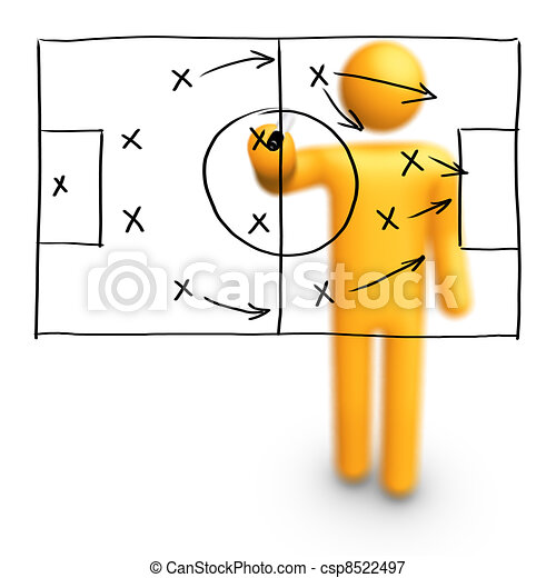 Soccer Strategy - csp8522497