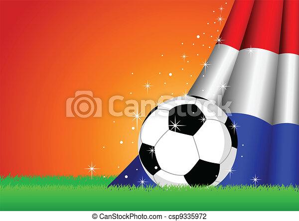 Soccer Theme - csp9335972