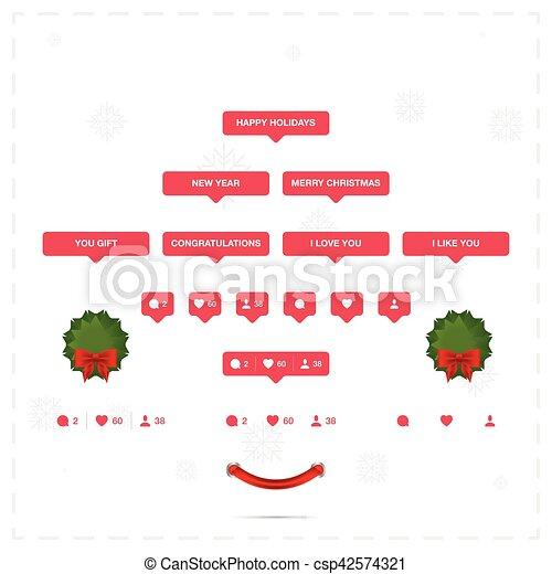 Christmas Holidays Icon.Social And Holiday Icons