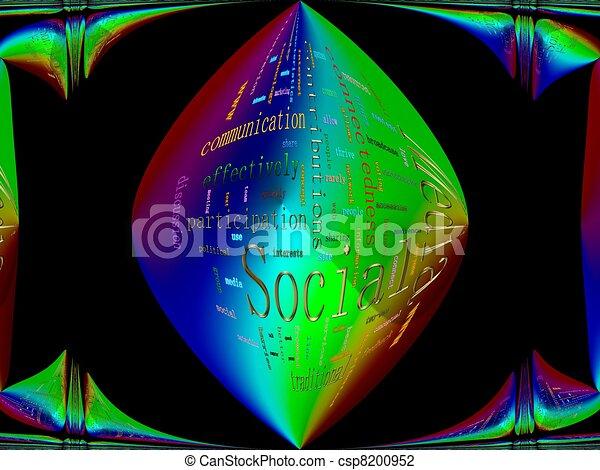 Social Media - csp8200952