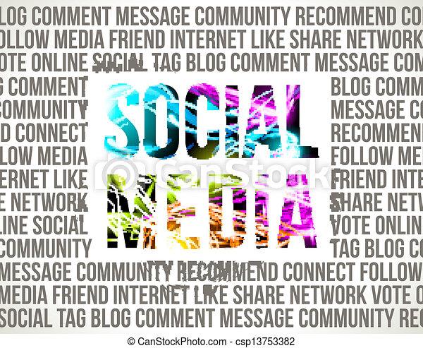 Social Media - csp13753382